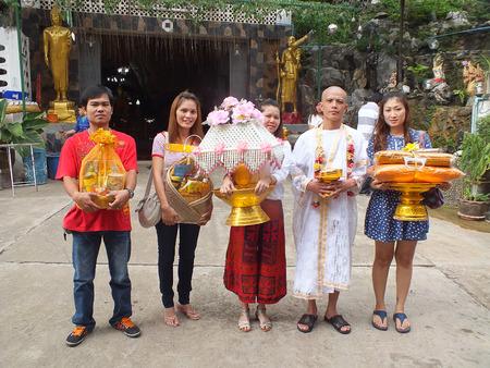 ordination: Saraburi - June 7 : Relative of my brother in ordination on June 7,2013 in Saraburi Thailand