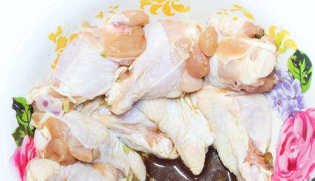 ferment: Raw  ferment chicken calf Stock Photo