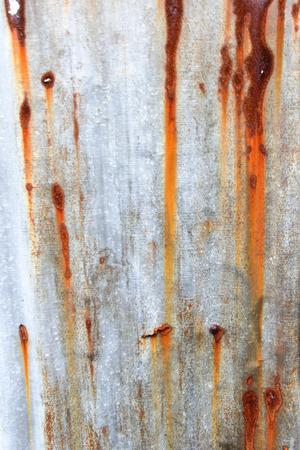 corrosion: Texture of corrosion zinc
