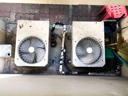 air: Air conditioner fan
