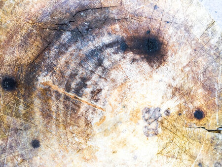 Dirty stain on Chopping board texture photo