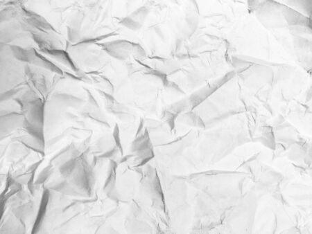 a4: White A4 paper is wrinkled
