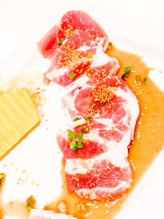 seasoned: Seasoned Pork Stock Photo