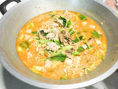 thai food: Tomyum noodle, Thai food