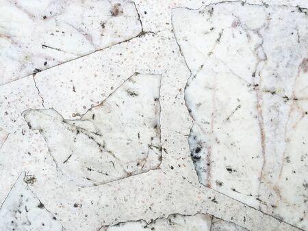 Grunge vieja mancha sucia en el mármol blanco de textura de fondo Foto de archivo - 40309739