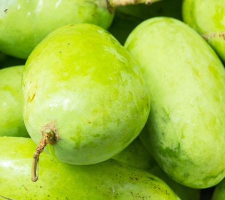 greem: greem mango closeup background