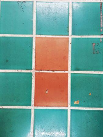 tile background: Grunge tile texture background