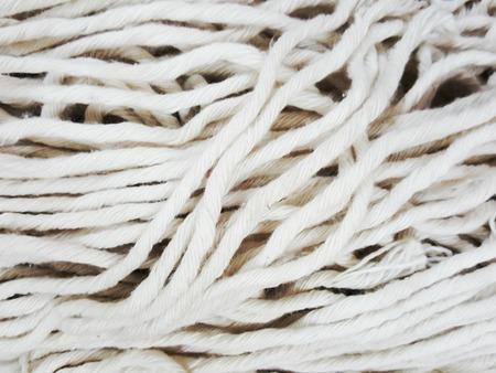 mop: Close up mop rope
