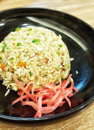 japon food: M�langer le riz au Japon alimentaire Banque d'images