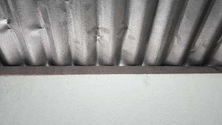 roof texture: Zinc roof texture background