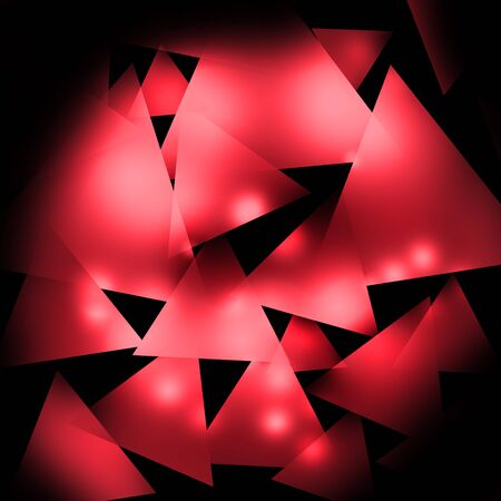 rectangle: Dark and light red rectangle background Stock Photo
