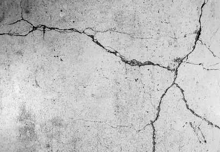 fissure: Crack fond en béton