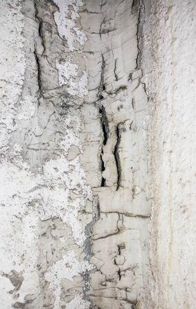 fissure: Crack ciment texture Banque d'images