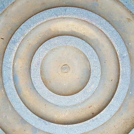 circle shape: Circle plastic shape texture