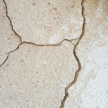 parting: crack cement concrete texture background