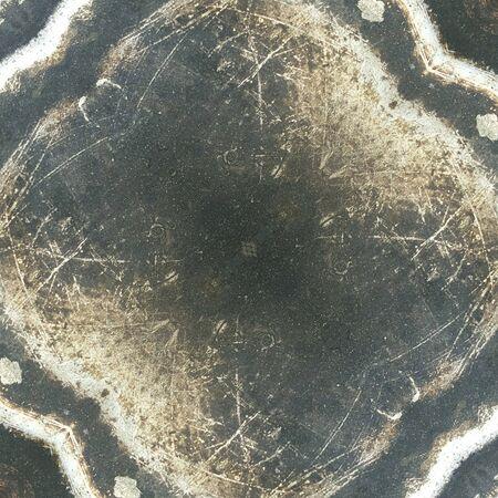 quemadura: Burn mancha negro en la olla vieja