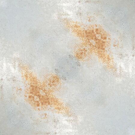 grubby: grunge corrosion and rusty stain on the steel texture Stock Photo
