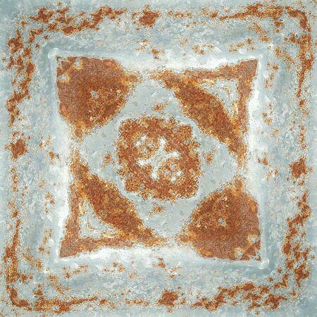 unsanitary: grunge and rusty zinc texture