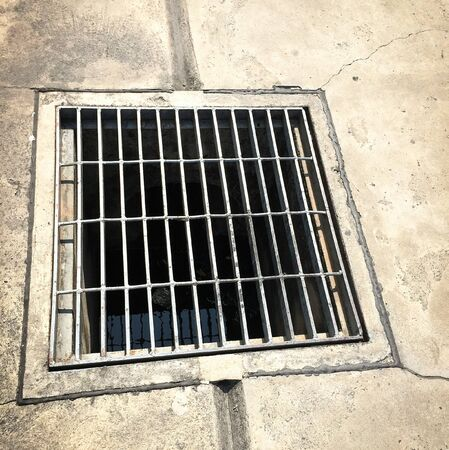 sewer: Sewer on the street