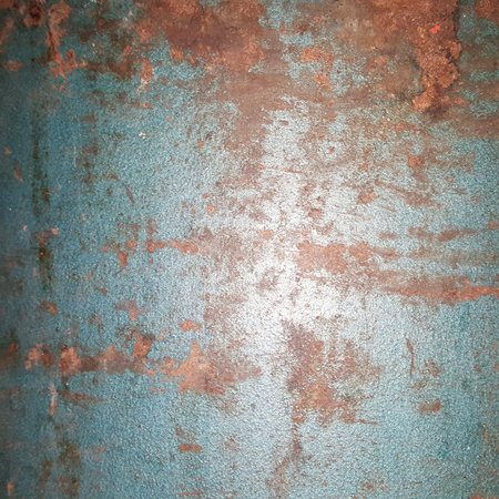 corrosion and rusty on the old steel texture