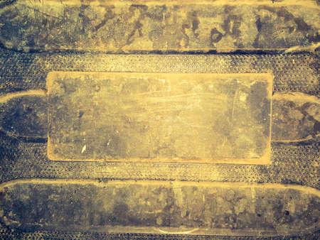 unsanitary: yellow grunge plastic texuture Stock Photo