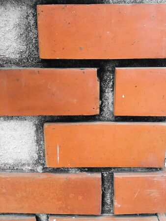cor: Orange brick texture