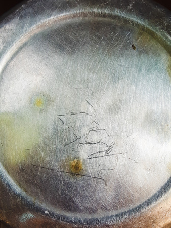 unsanitary: grunge and dirty stainless texture Stock Photo