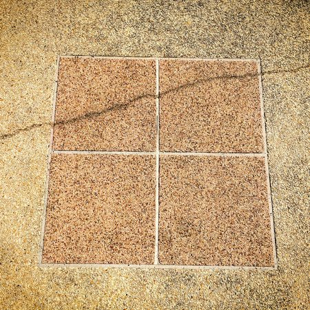 cracked concrete: Cracked concrete texture road