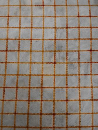 checkerboard: old checkerboard fabric texture Stock Photo