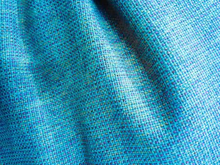 blue background: blue fabric texture background Stock Photo