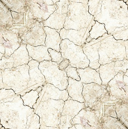Crack and dry soil texture background Stock Photo