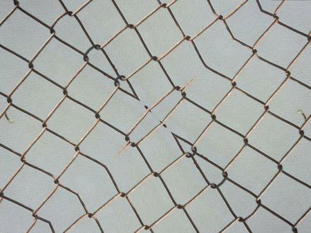 imprison: rusty cage texture background