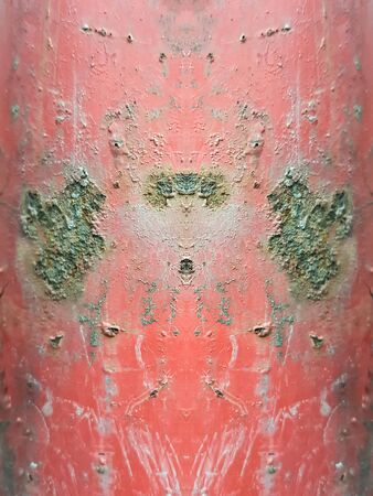 corrosion: red rusty corrosion steel texture background Stock Photo