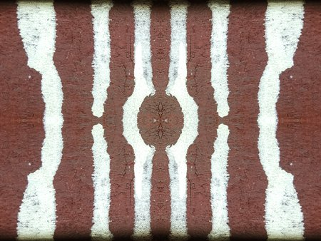 color stain: color stain on red wood texture background