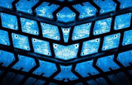 backgorund: blue tire  texture backgorund Stock Photo
