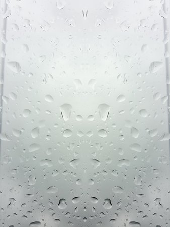 drop on glass texture background