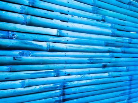 blue background: blue bamboo texture background Stock Photo