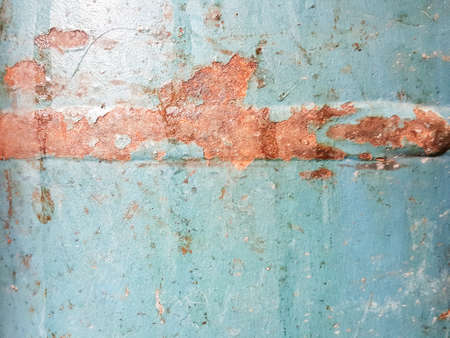 corrosion: rusty corrosion stain on steel texture background Stock Photo