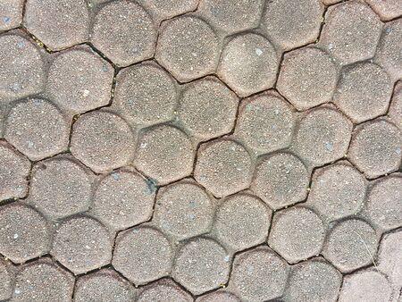 circle shape: circle brick shape concrete texture background
