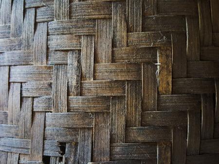 unsanitary: black grunge bamboo weave texture background