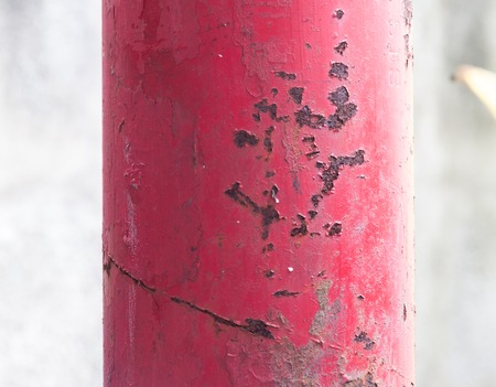corrosion: grunge corrosion rusty steel pole