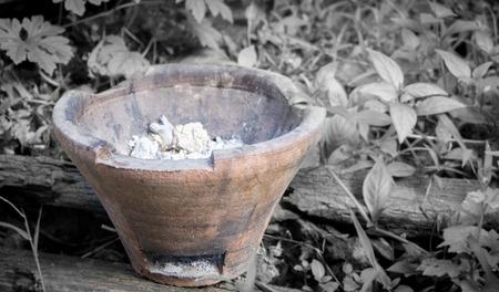 stove: Stove charcoal Stock Photo
