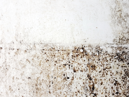 grunge dirty oil stain on plastic texture Stock Photo