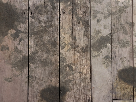 grunge wood with dirty black oil stain texture