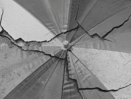crack fabric umbrella texture