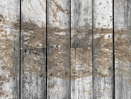 wet soil on old vertical wood texture