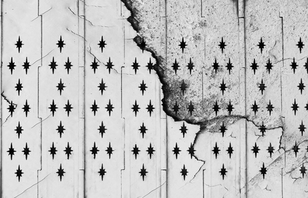 crack old steel door texture
