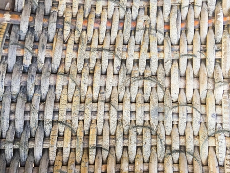 rough old bamboo weave texture