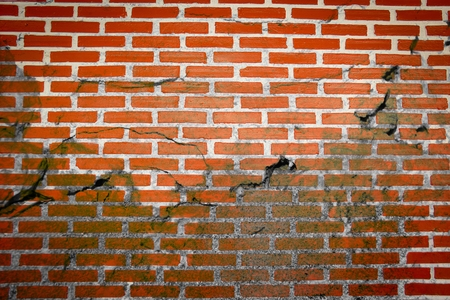 crack old brick wall texture
