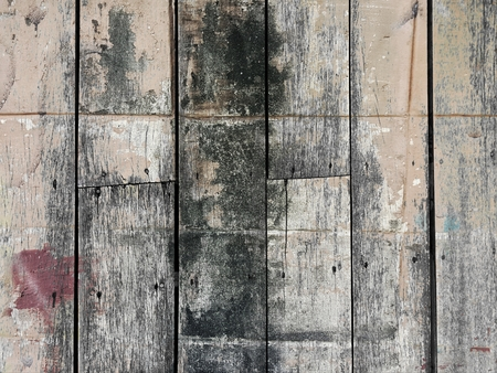 grunge dirty stain on old vertical wood texture